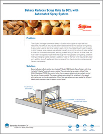 Bakery Reduces Scrap Rate by 80% with Automated Spray System