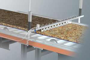 PanelSpray system for release agent and surface moisture