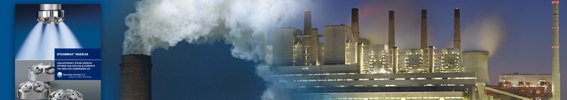 Application Literature for Gas Cooling from Spraying Systems Co.