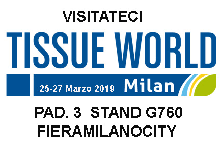 Visit us<br>Tissue World<br>Milan