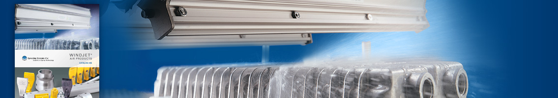 Literature for Drying/Blow-Off Markets from Spraying Systems Co.