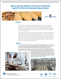 CS132 Bakery Improves Quality and Increases Production Speed