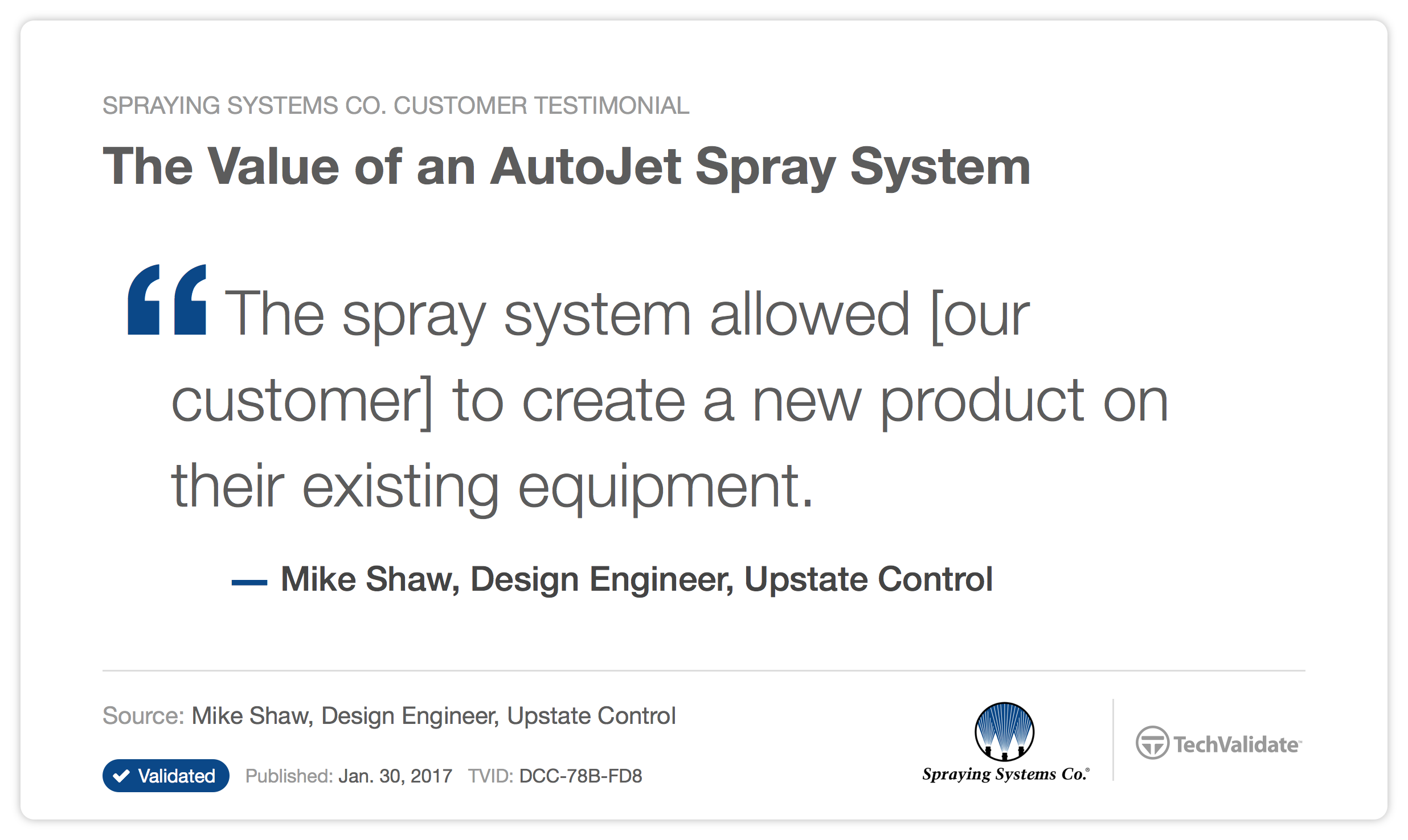 Spray Solutions That Provide Tangible Results