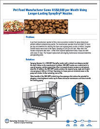 CS178 Pet Food Manufacturer