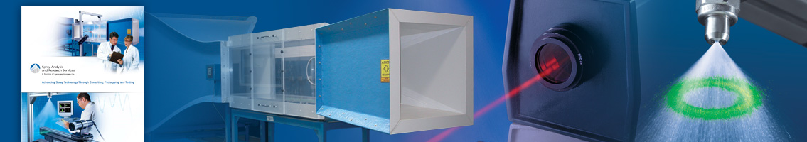 Research and Modeling Services Product Literature from Spraying Systems Co.