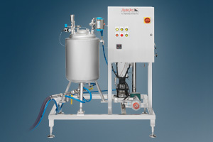 AccuCoat heated spray system