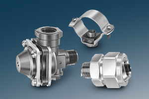 stainless steel spray system connectors, fittings and valves