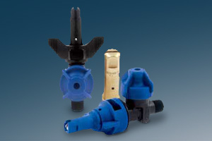 product grouping of plastic FoamJet nozzles
